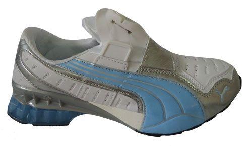9406c19e966 Tênis Puma Disc Cell Torino 2011 Branco e Azul bebe MOD 022 - Loja ...