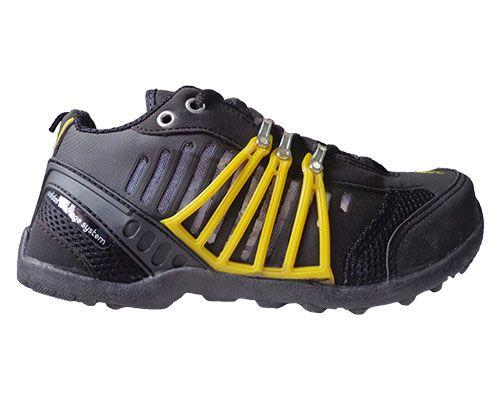 585e4174e06 Tênis Adidas Hellbender Preto e Amarelo MOD 10683 - Loja de visualstilus